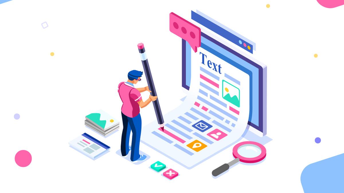 vector Marketing de contenido